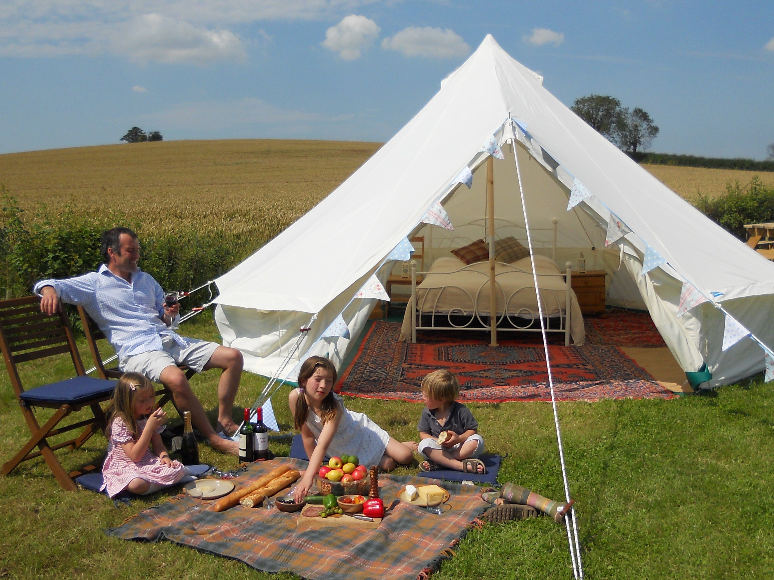 Planning permission for glamping
