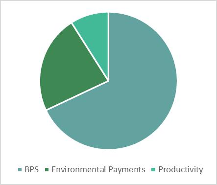 2020 - 68% BPS, 23% Environmental