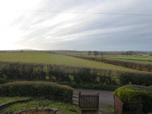 View from Yew Tree Cottage